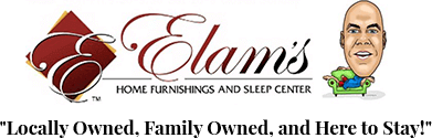 Elam's Home Furnishings and Sleep Center Logo